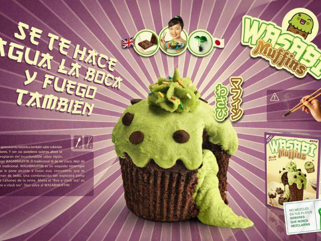 wasabi muffin